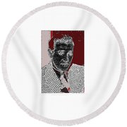 Benjamin Siegel Aka Bugsy Unknown Locale Or Date-2013 Round Beach Towel