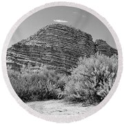 Big Bend National Park Round Beach Towel