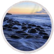 Bowling Ball Beach Round Beach Towel