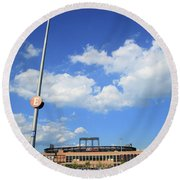 Citi Field - New York Mets Round Beach Towel