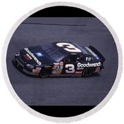 Dale Earnhardt # 3 Goodwrench Chevrolet At Daytona Round Beach Towel