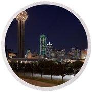 Dallas - Texas Round Beach Towel