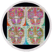 Dod Art 123 Round Beach Towel