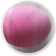 Easter Egg Round Beach Towel