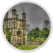 Eastwell Towers Round Beach Towel