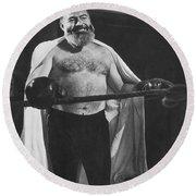 Ernest Hemingway Round Beach Towel