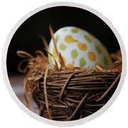 Fashionable Egg Round Beach Towel