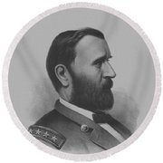 General Grant Round Beach Towel