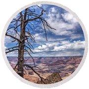 Grand Canyon National Park - South Rim Round Beach Towel