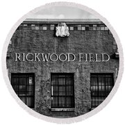 Historic Rickwood Field Round Beach Towel