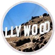 Hollywood Round Beach Towel
