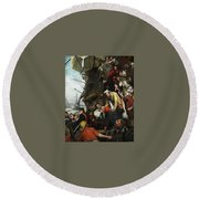 Home Again Henry Nelson Oneil Round Beach Towel