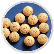 Hydromorphone 2 Mg Tablets Round Beach Towel