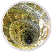 Initiation Well Sintra Round Beach Towel