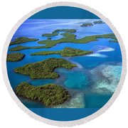 Island Round Beach Towel