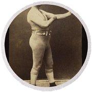 John L. Sullivan (1858-1918) Round Beach Towel