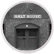 Jonesborough Tennessee - Salt House Round Beach Towel