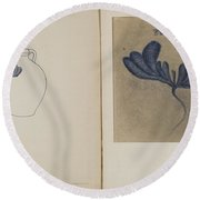 Jug Round Beach Towel