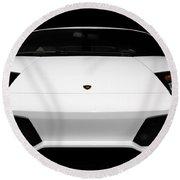 Lamborghini Murcielago Lp640 Coupe Round Beach Towel