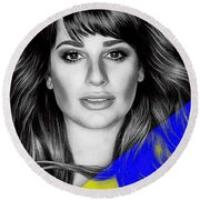 Lea Michele Collection Round Beach Towel