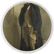 Lord Ribblesdale Round Beach Towel
