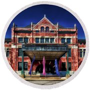 Montgomery Union Station Round Beach Towel