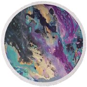 Ocean Floor Round Beach Towel