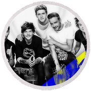 One Direction Collection Round Beach Towel