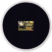 Prince Albert Henry Pierce Bone Round Beach Towel
