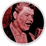 Ritchie Valens Collection Round Beach Towel
