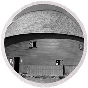 Route 66 - Round Barn Round Beach Towel