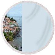 Salvador Da Bahia - Brazil Round Beach Towel