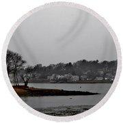 South Terrace Round Beach Towel