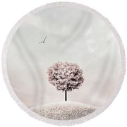 Still Round Beach Towel