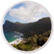 Table Mountain National Park Round Beach Towel