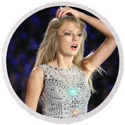 Taylor Swift Round Beach Towel