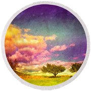 The Kvr Collection Round Beach Towel