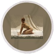 The Net Round Beach Towel