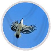 The Sky Is My Limit Round Beach Towel