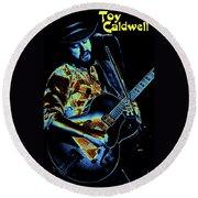 Toy Caldwell In Spokane 2 Round Beach Towel