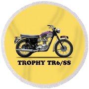 Triumph Trophy Round Beach Towel