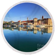 Trogir Round Beach Towel