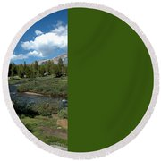 Tuolumne Meadows Round Beach Towel