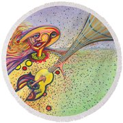 Unquestionable Round Beach Towel