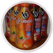 V8 Fusion Round Beach Towel