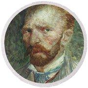 Vincent Van Gogh (1853-1890) Round Beach Towel