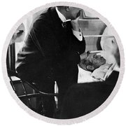 William Osler, Canadian Physician Round Beach Towel