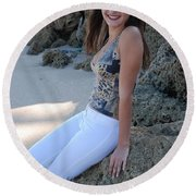 Gisele Round Beach Towel
