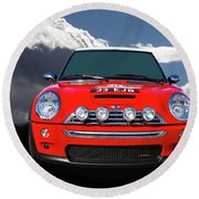 2004 S Mini Cooper Round Beach Towel