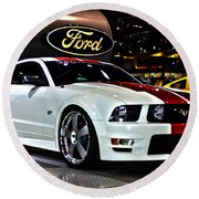 2006 Ford Mustang No 1 Round Beach Towel